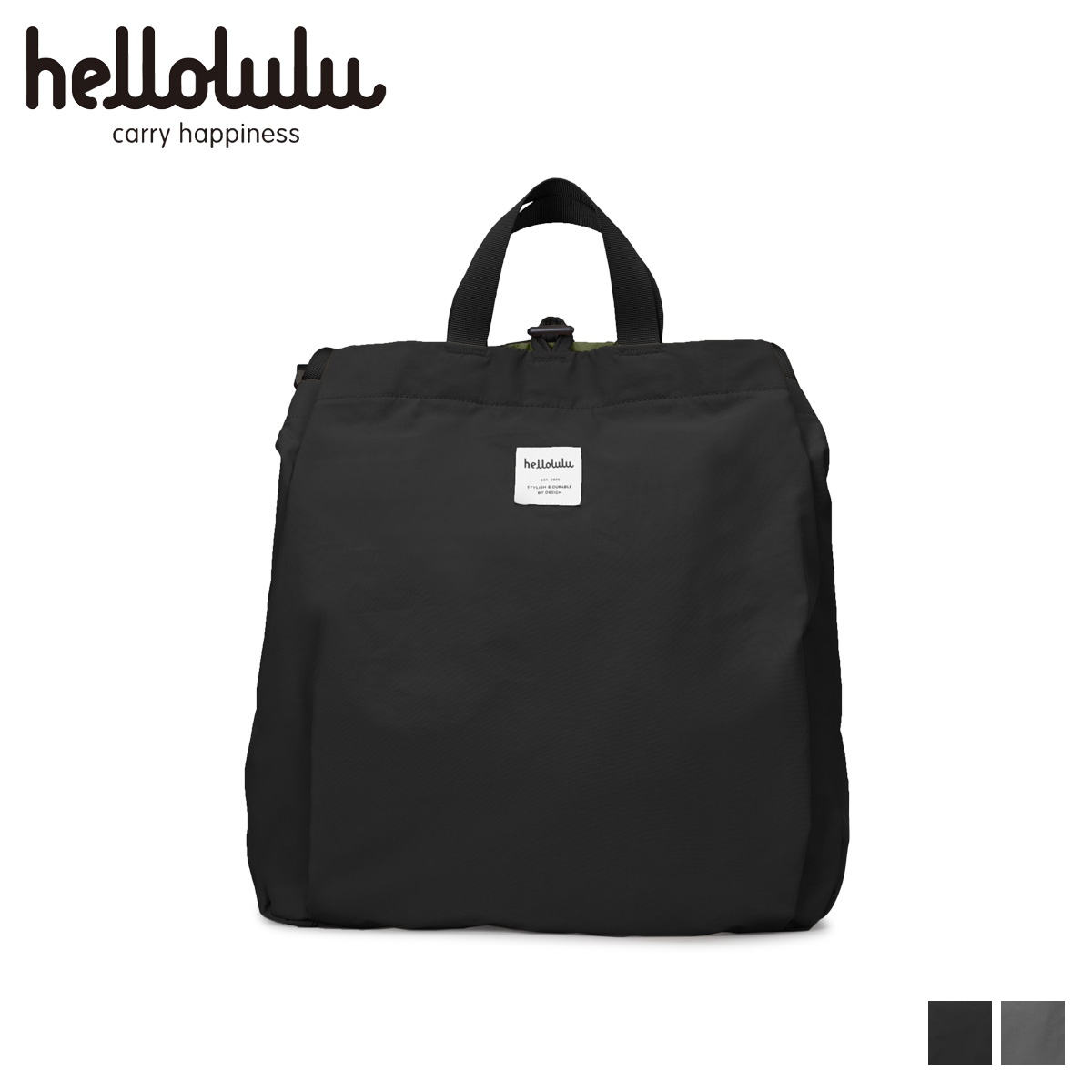 hellolulu ハロルル ショルダーバッグ バッグ メンズ レディース HAVEN ブラック グレー 黒 5075108