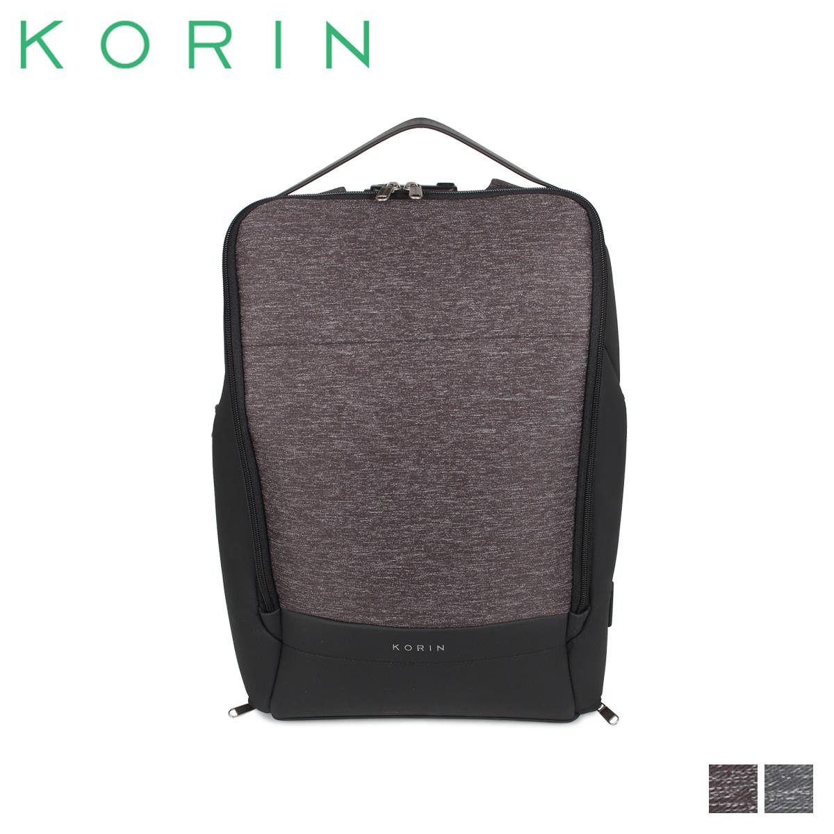 KORIN DESIGN コリンデザイン フレックスパック リュック バッグ バックパック メンズ レディース 18L 防犯 FLEXPACK PRO ブラック グレー 黒