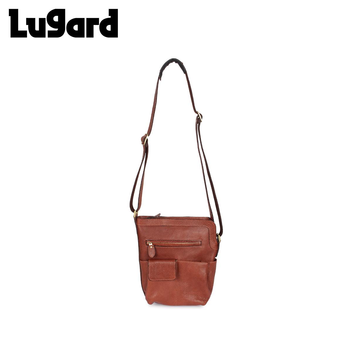 Lugard ラガード 青木鞄 バッグ ショルダーバッグ メンズ NEVADA BAG SHOULDER BAG ブラウン 5084