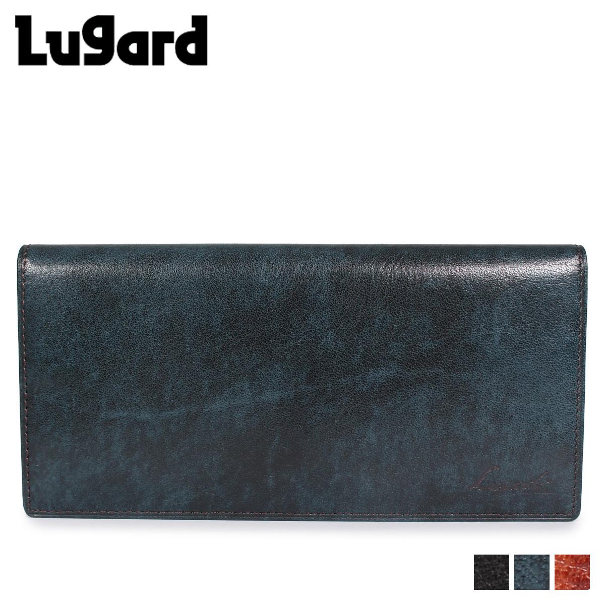 Lugard ラガード 青木鞄 ジースリー 財布 長財布 二つ折り メンズ G3 WALLET ブラック ネイビー ブラウン 黒 5188