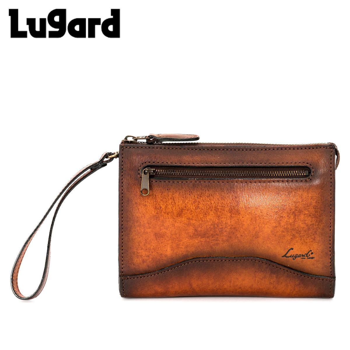 Lugard ラガード 青木鞄 バッグ クラッチバッグ セカンドバッグ G3 CLUTCH BAG メンズ ジースリー 2WAY ブラウン 5211