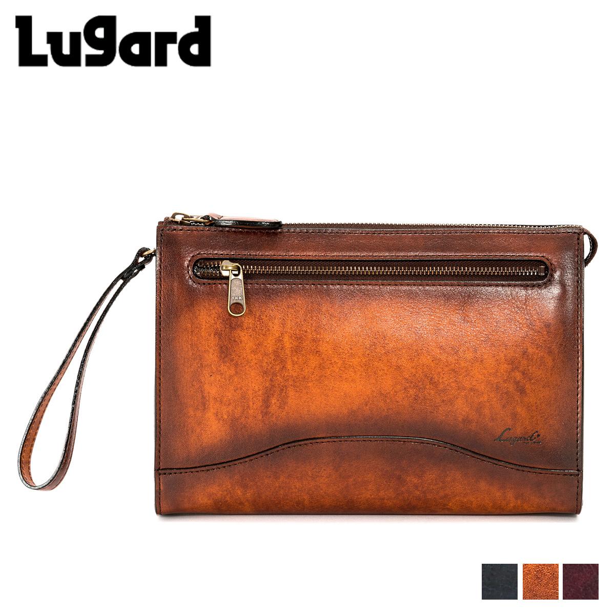 Lugard ラガード 青木鞄 ジースリー バッグ クラッチバッグ セカンドバッグ メンズ G3 CLUTCH BAG ネイビー ブラウン ボルドー 5213