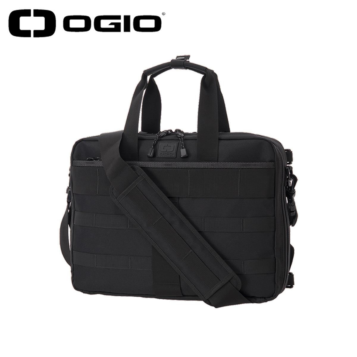 OGIO オジオ バッグ ビジネスバッグ ブリーフケース メンズ 11L CORE CONVOY 3WAY BRIEF CASE SMALL BAG 20 JM ブラック 黒 5920160OG