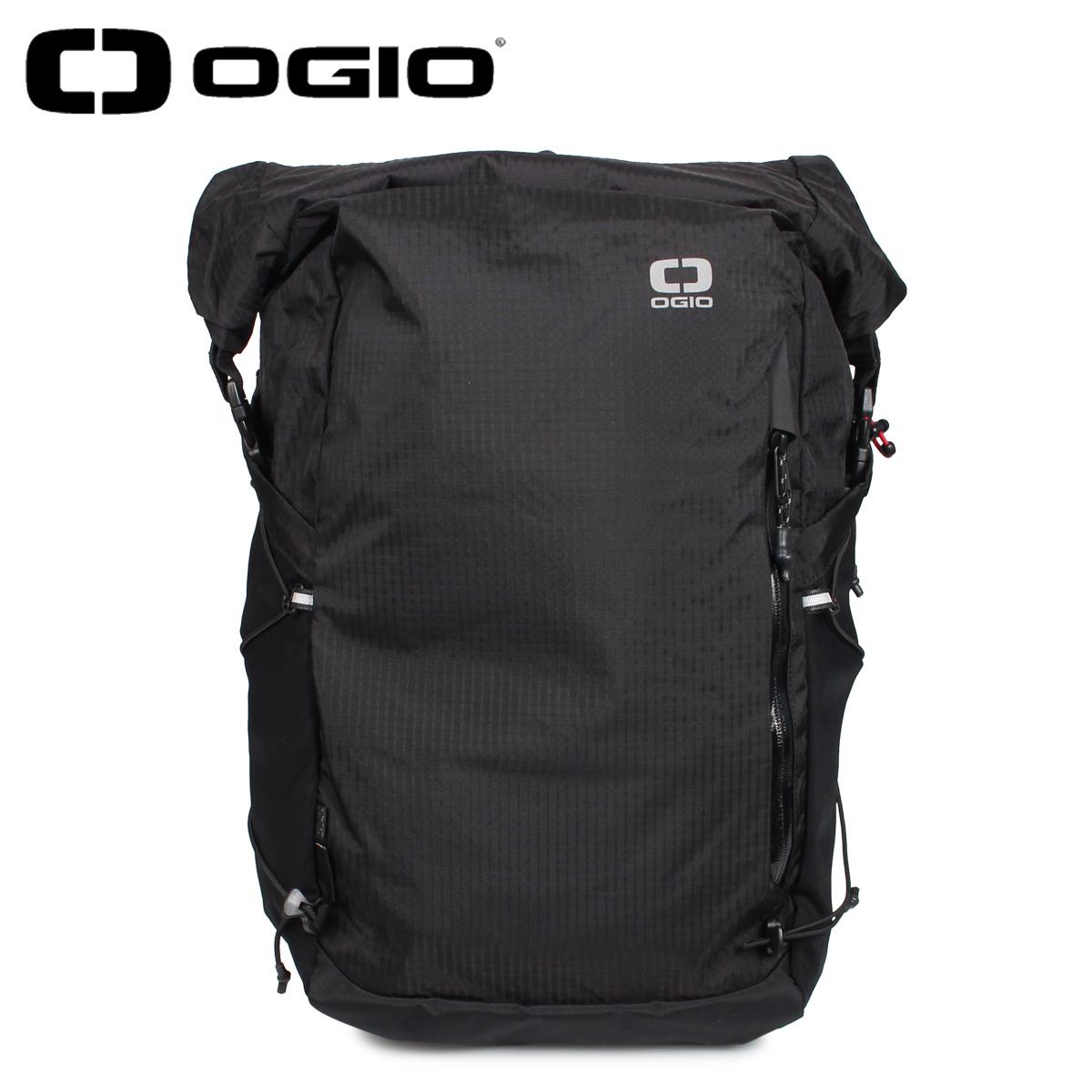 OGIO オジオ リュック バッグ バックパック ビジネスバッグ メンズ レディース 25L FUSE 25 ROLLTOP BACKPACK JV ブラック 黒 5920183OG