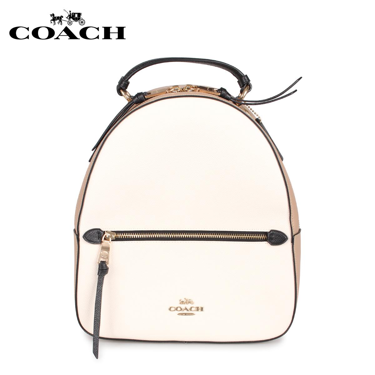 COACH コーチ バッグ リュック バックパック レディース オフホワイト 166 [3/18 新入荷]
