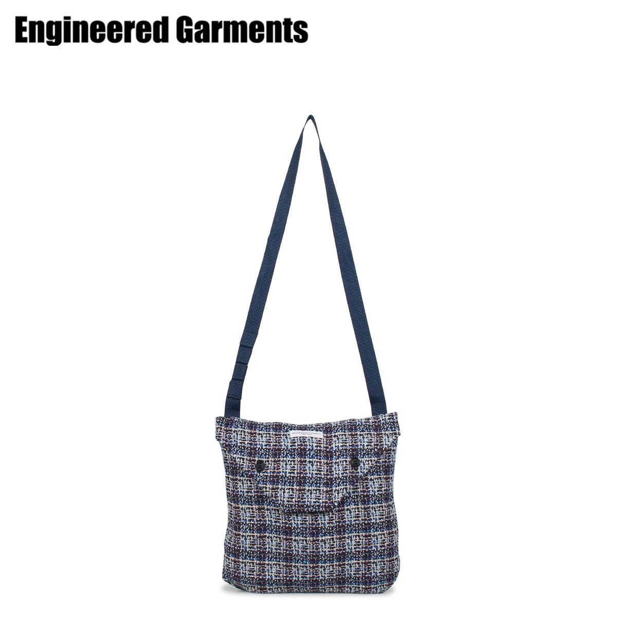 ENGINEERED GARMENTS エンジニアドガーメンツ バッグ ショルダーバッグ サコッシュ メンズ レディース SHOULDER POUCH ブルー 20S1H014 [3/26 新入荷]