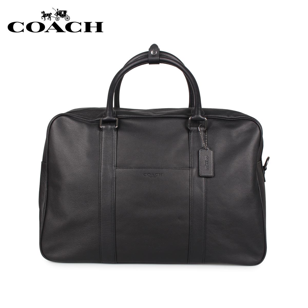 COACH コーチ バッグ ボストンバッグ ショルダー メンズ ブラック 黒 F27614 [3/18 新入荷]