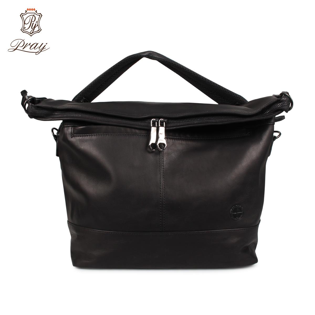 プレイ PRAY バッグ ショルダーバッグ メンズ 13.3L SHOULDER BAG ブラック 黒 PRSHD-301 [4/6 新入荷]