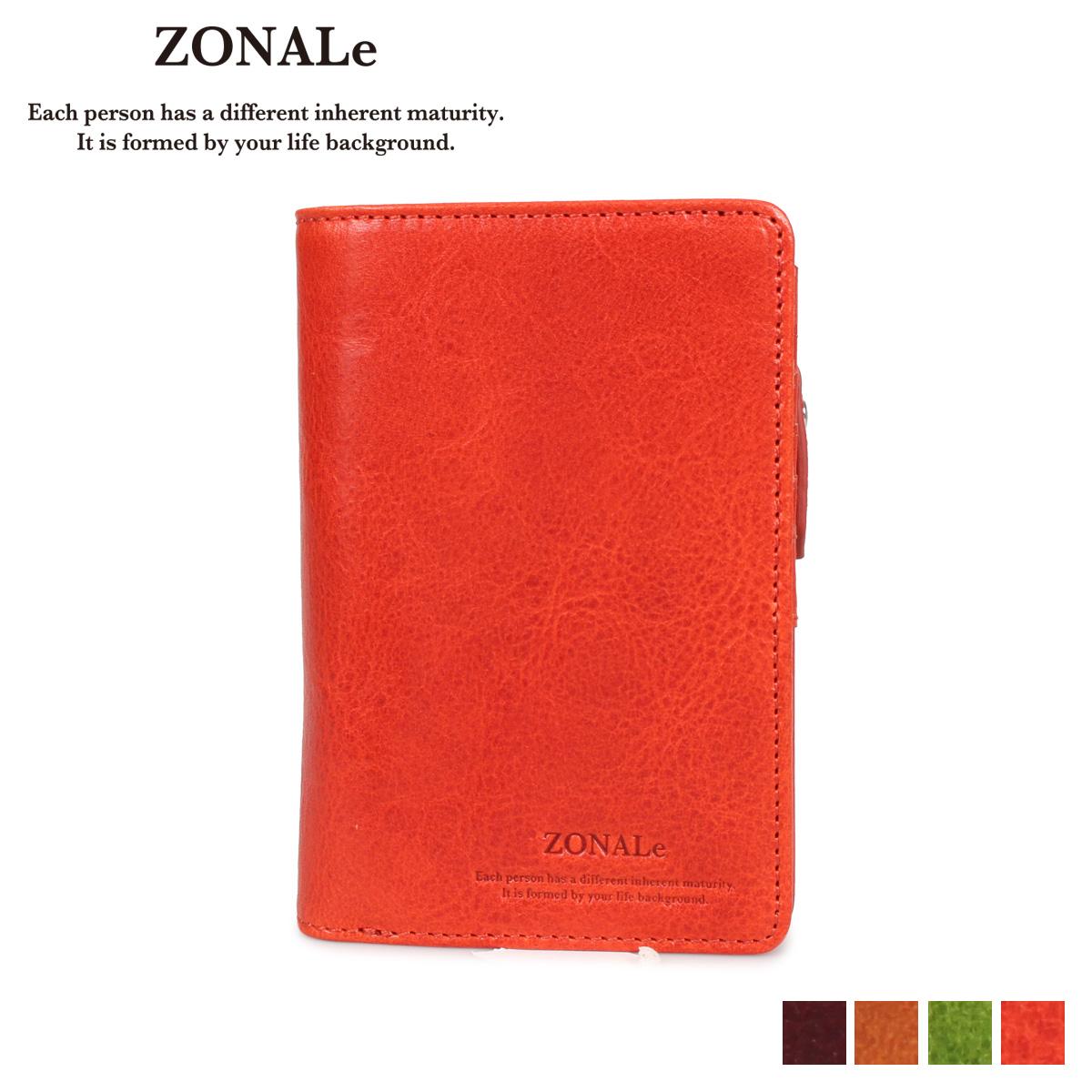 ZONALE ゾナール 財布 二つ折り メンズ 本革 RENZINA ブラウン キャメル グリーン オレンジ 31085 [4/6 新入荷]
