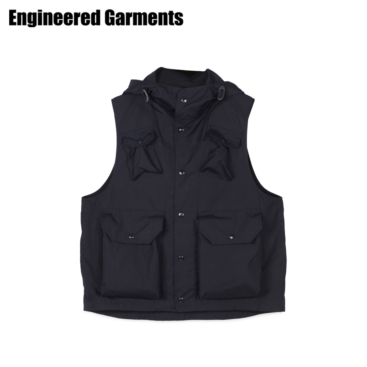 ENGINEERED GARMENTS エンジニアドガーメンツ ベスト ジレ メンズ FIELD VEST ネイビー 20S1C004