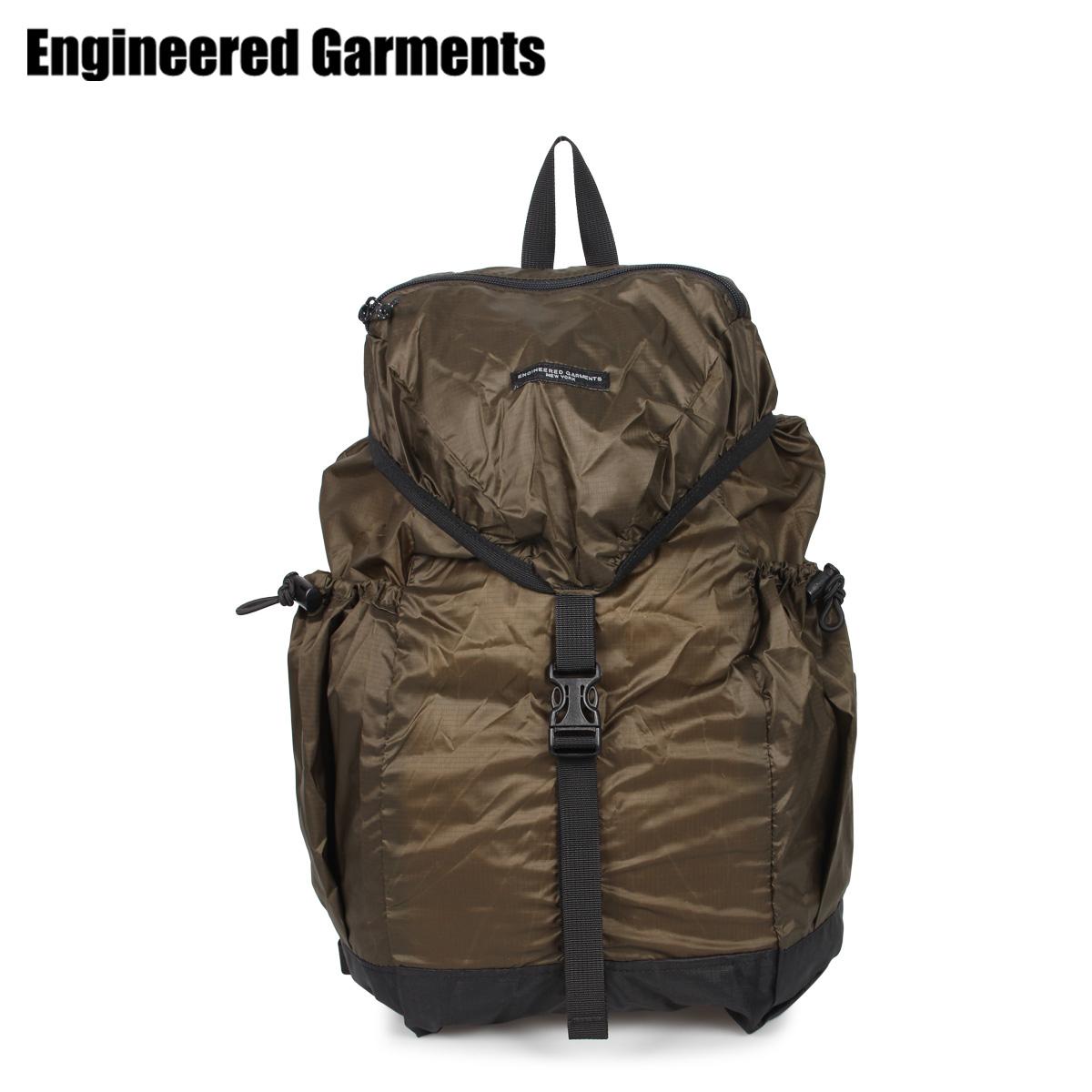 ENGINEERED GARMENTS エンジニアドガーメンツ リュック バッグ バックパック メンズ レディース UL BACKPACK カーキ 20S1H020 [3/27 新入荷]