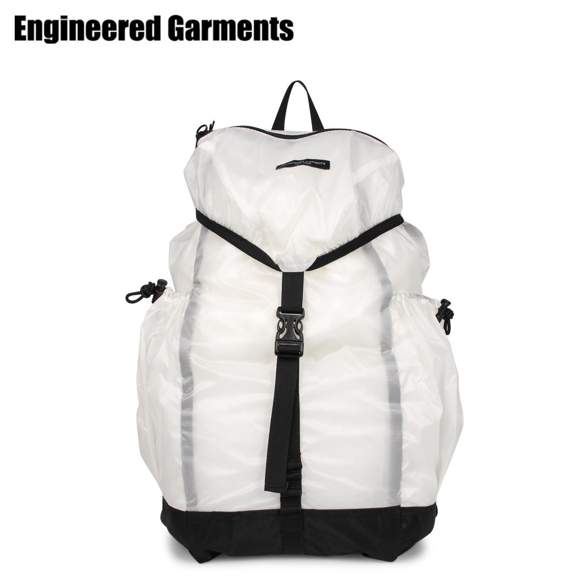 ENGINEERED GARMENTS エンジニアドガーメンツ リュック バッグ バックパック メンズ レディース UL BACKPACK ホワイト 白 20S1H020 [3/27 新入荷]