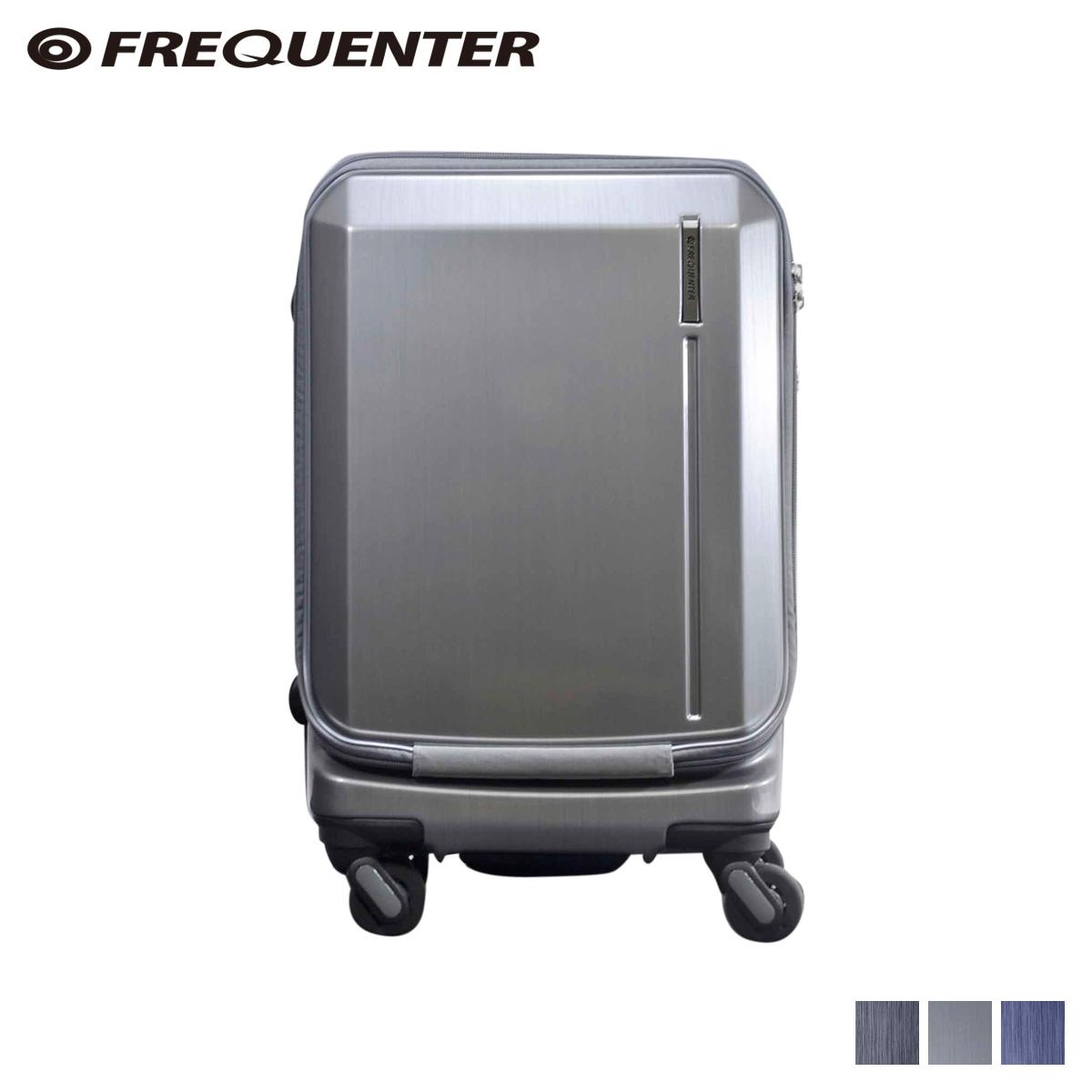 FREQUENTER フリクエンター グランド スーツケース キャリーケース キャリーバッグ メンズ 34L GRAND ブラック グレー ネイビー 黒 1-360 [4/13 新入荷]