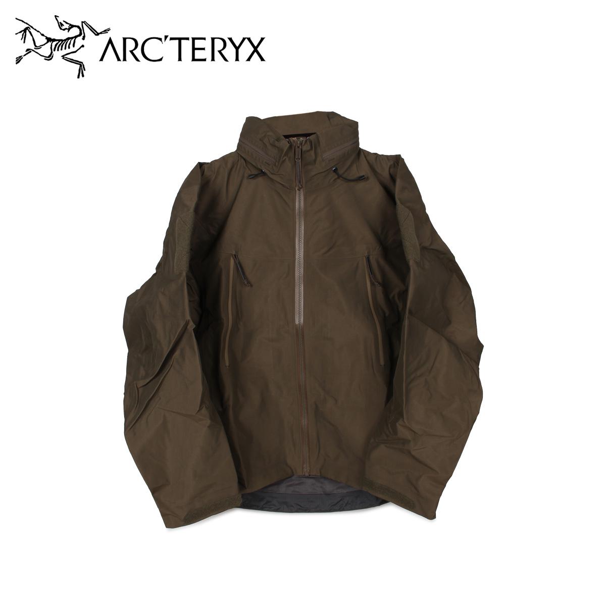 アークテリクス リーフ ARCTERYX LEAF ジャケット マウンテンパーカー アルファ メンズ ALPHA JACKET MENS GEN2 グリーン 18863