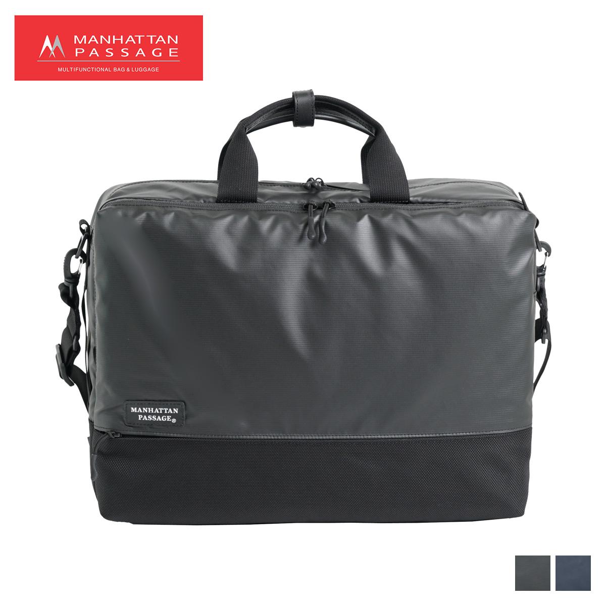 MANHATTAN PASSAGE マンハッタンパッセージ バッグ ショルダーバッグ ビジネスバッグ ブリーフケース メンズ 990L WELL ORGANIZED ブラック ネイビー 黒 3313 [4/10 新入荷]