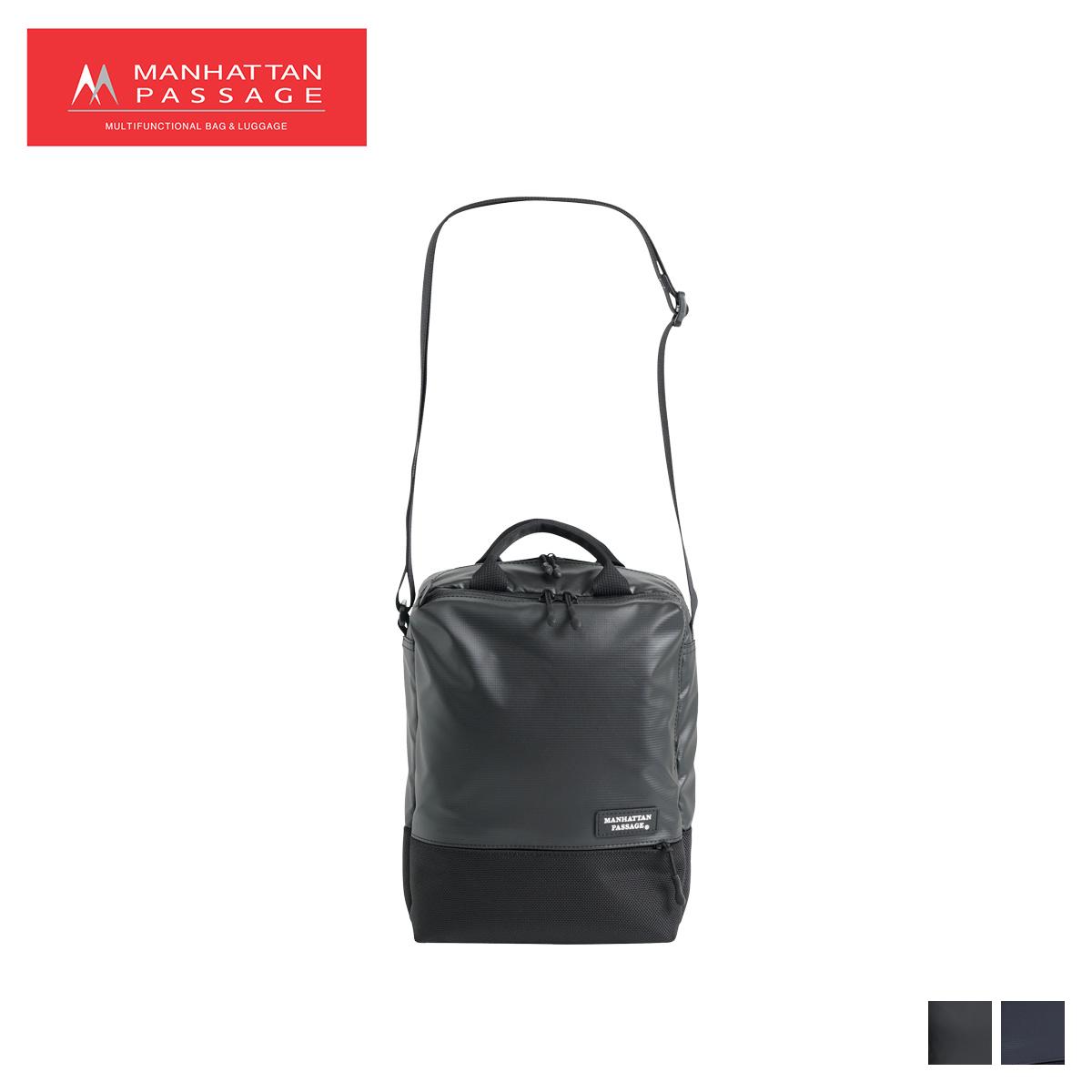 MANHATTAN PASSAGE マンハッタンパッセージ バッグ ショルダーバッグ ビジネスバッグ メンズ 6L VERTICAL ブラック ネイビー 黒 3365 [4/10 新入荷]
