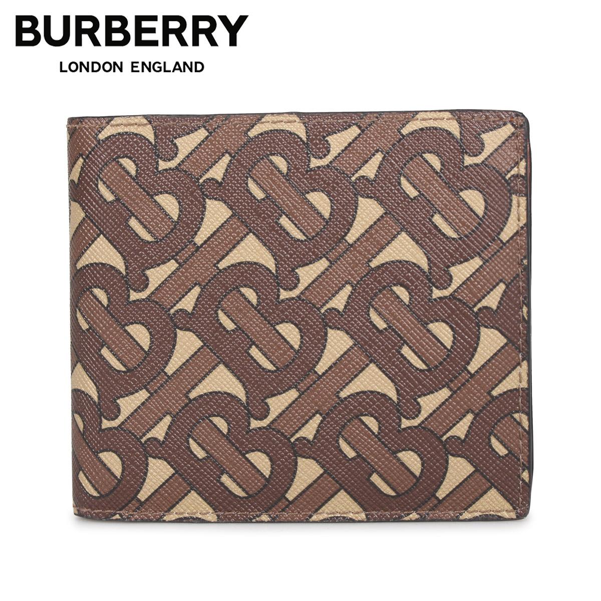 BURBERRY バーバリー 財布 二つ折り メンズ CC BILL COIN ブラウン 8022913 [3/4 新入荷]