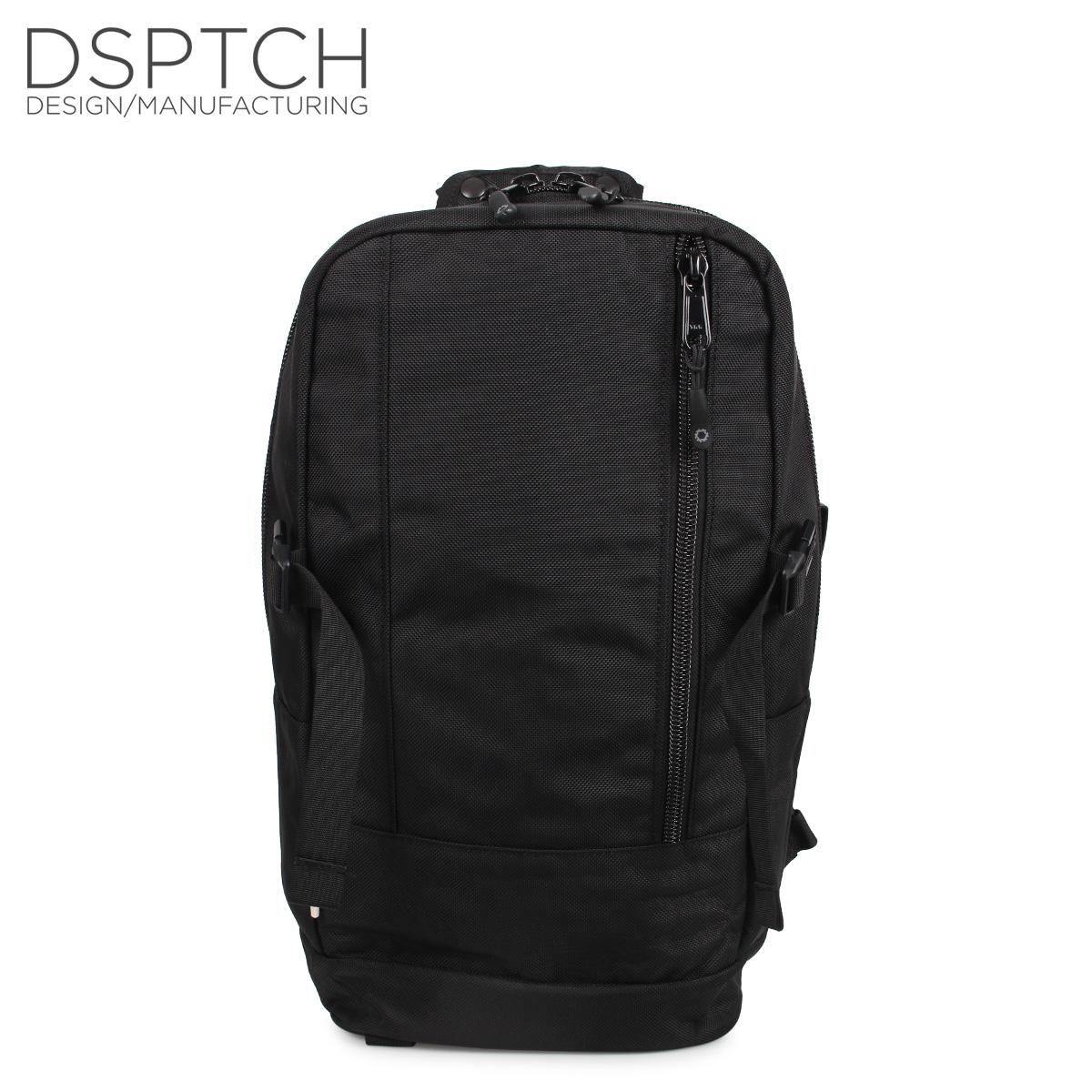 ディスパッチ DSPTCH バッグ リュック バックパック メンズ レディース DAYPACK 22L ブラック 黒 PCK-DP