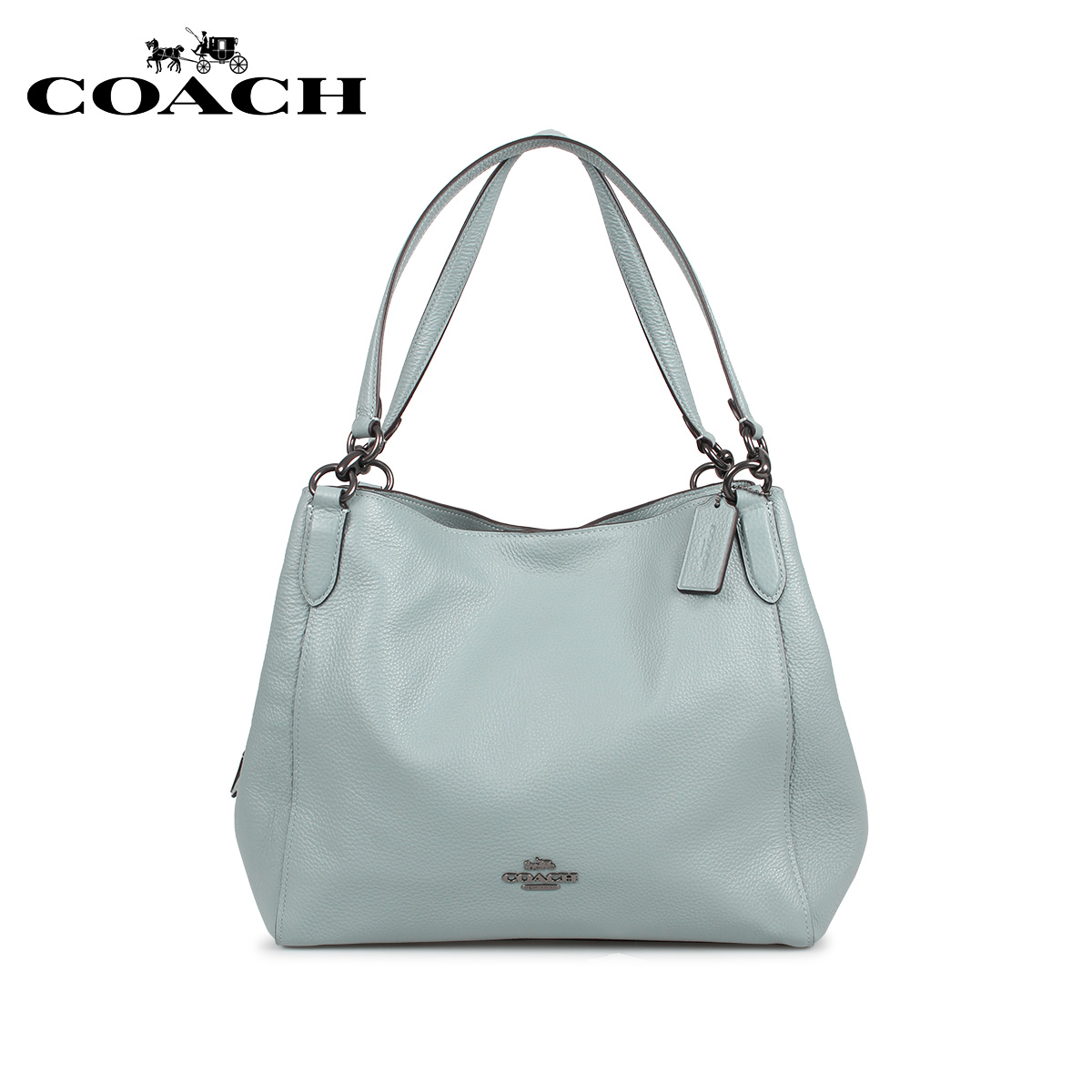 COACH コーチ バッグ ハンドバッグ レディース ブルー F80268 [3/10 新入荷]