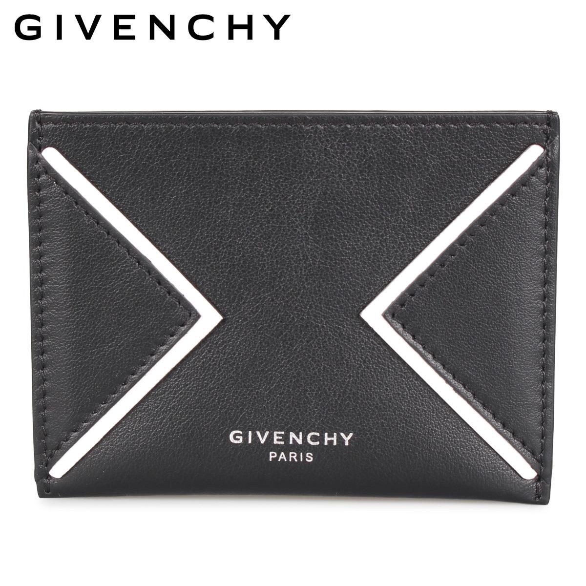 GIVENCHY ジバンシィ パスケース カードケース ID 定期入れ メンズ CARD HOLDER ブラック 黒 BK6003 [3/9 新入荷]