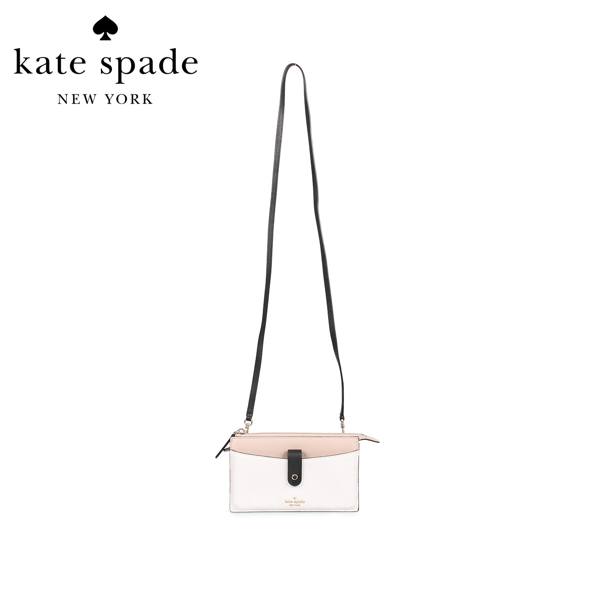 kate spade ケイトスペード バッグ ショルダーバッグ レディース SMALL TAB CROSSBODY ホワイト 白 WLRU5923 [3/13 新入荷]