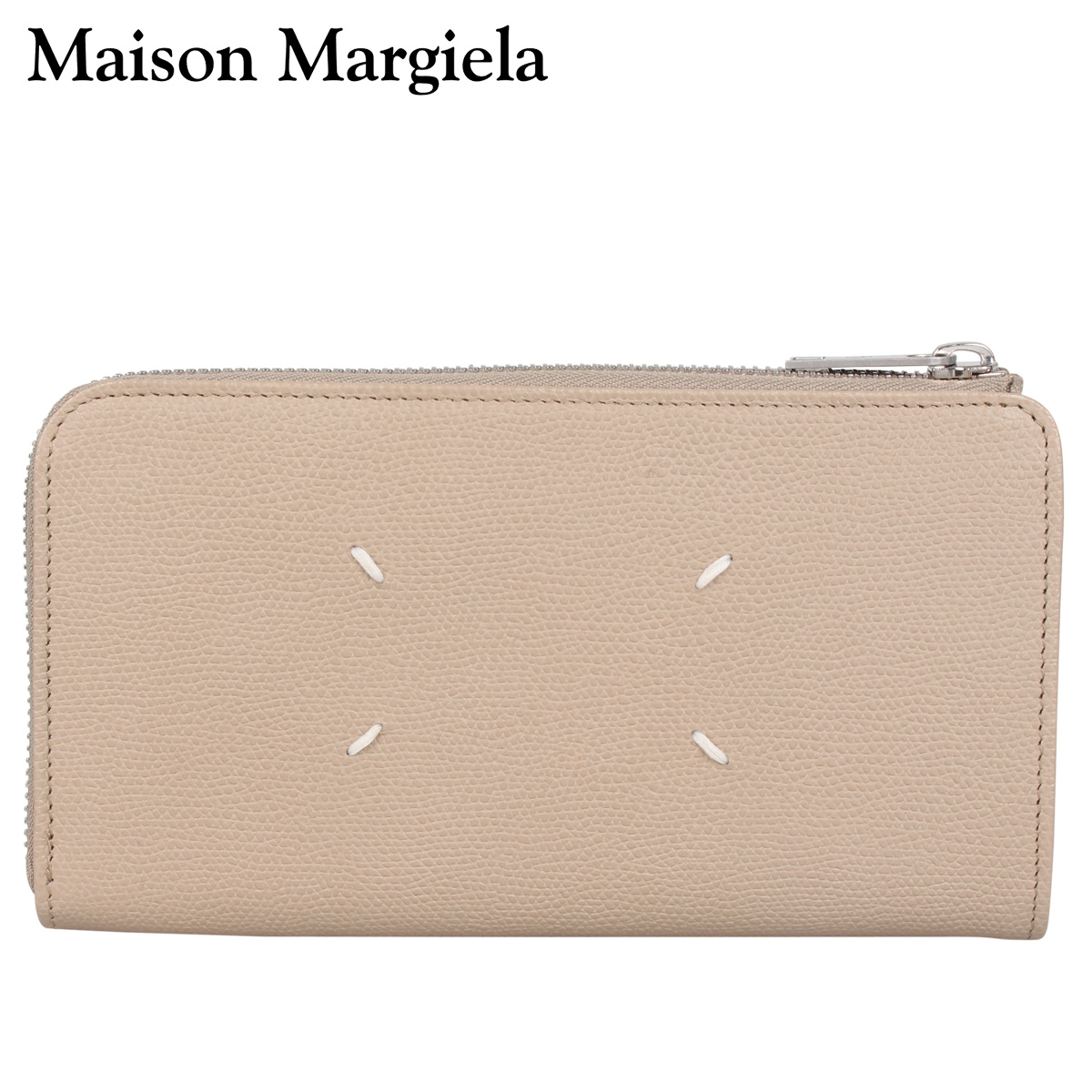 MAISON MARGIELA メゾンマルジェラ 財布 長財布 メンズ レディース LONG WALLET ベージュ S35UI0431-T2352 [3/4 新入荷]