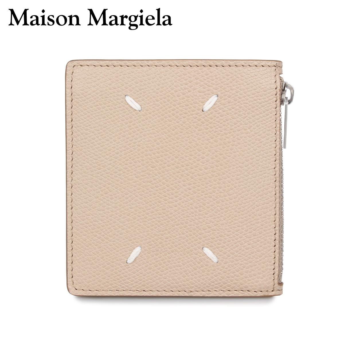 MAISON MARGIELA メゾンマルジェラ 財布 二つ折り メンズ レディース WALLET ベージュ S35UI0448-T2352 [3/4 新入荷]