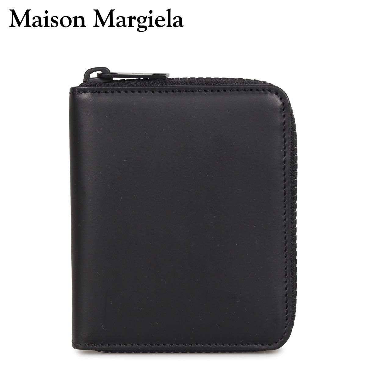MAISON MARGIELA メゾンマルジェラ 財布 二つ折り メンズ レディース WALLET ブラック 黒 S55UI0197-T8013 [3/4 新入荷]