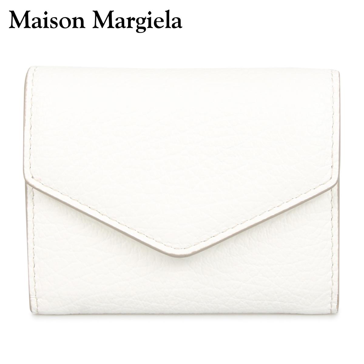 MAISON MARGIELA メゾンマルジェラ 財布 ミニ財布 メンズ レディース WALLET ホワイト 白 S56UI0149 [3/12 新入荷]