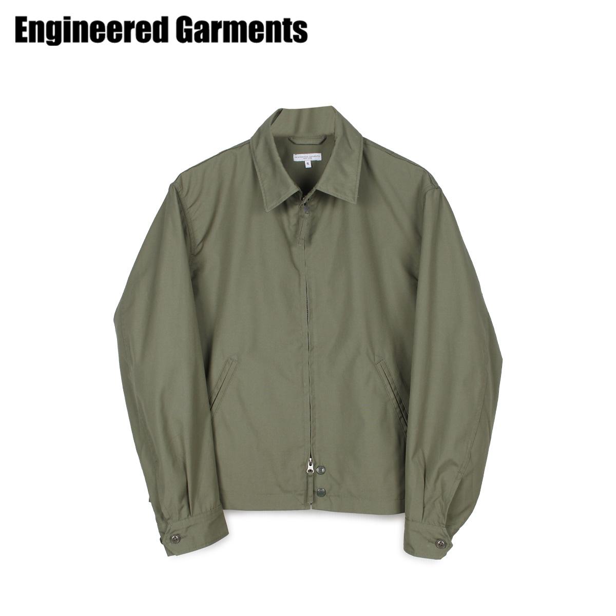 ENGINEERED GARMENTS エンジニアドガーメンツ ジャケット メンズ CLAIGTON JACKET オリーブ 20S1D026