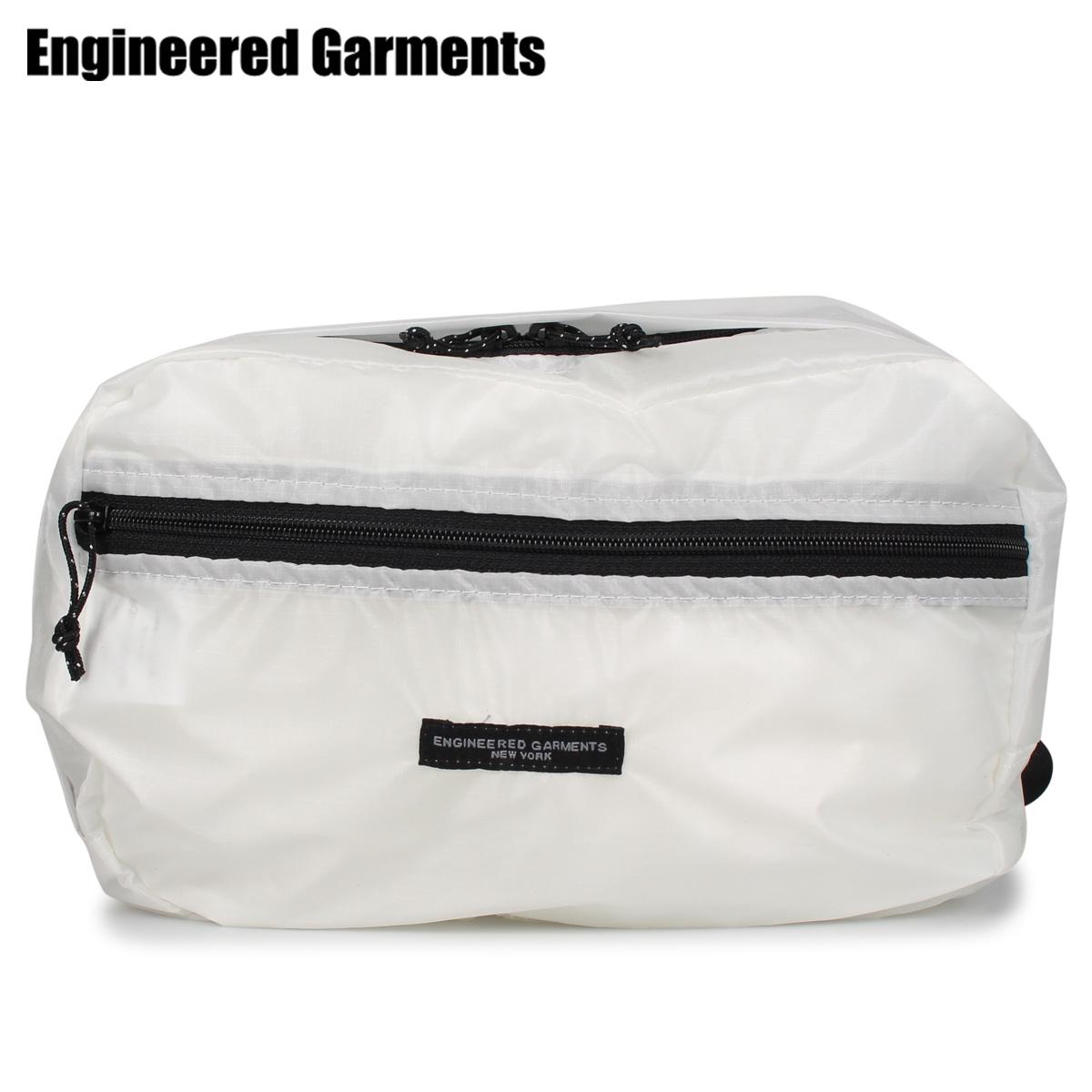 ENGINEERED GARMENTS エンジニアドガーメンツ バッグ ウエストバッグ ボディバッグ メンズ UL WAIST PACK ホワイト 白 20S1H021 [4/22 新入荷]