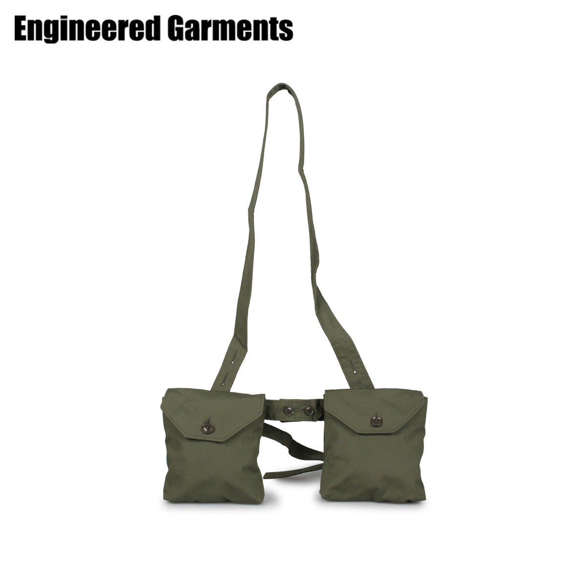 ENGINEERED GARMENTS エンジニアドガーメンツ バッグ ウエストバッグ ボディバッグ メンズ WAIST BAG オリーブ 20S1H028 [4/22 新入荷]