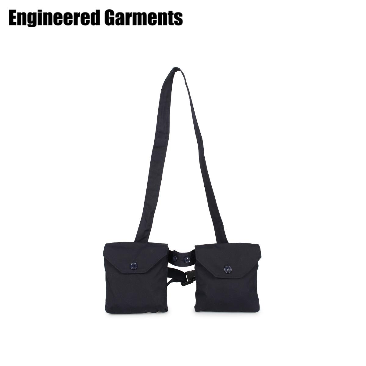 ENGINEERED GARMENTS エンジニアドガーメンツ バッグ ウエストバッグ ボディバッグ メンズ WAIST BAG ネイビー 20S1H028 [4/22 新入荷]