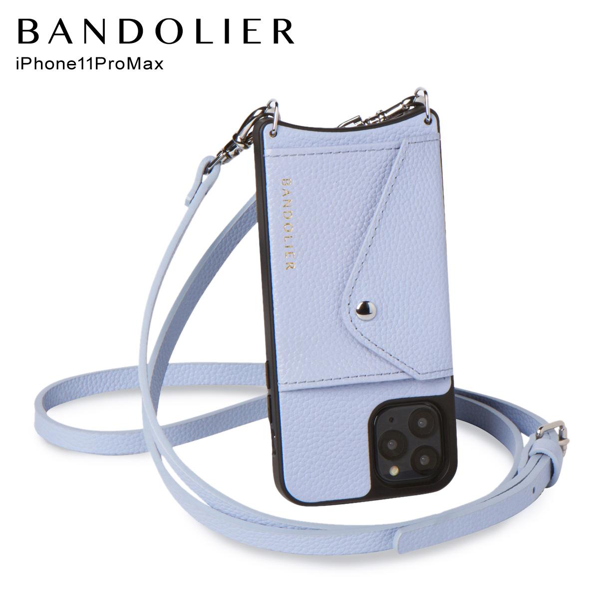 バンドリヤー BANDOLIER iPhone11 Pro MAX ケース スマホ 携帯 ショルダー アイフォン ドナー メンズ レディース DONNA ブルー 14DON [5/26 再入荷]