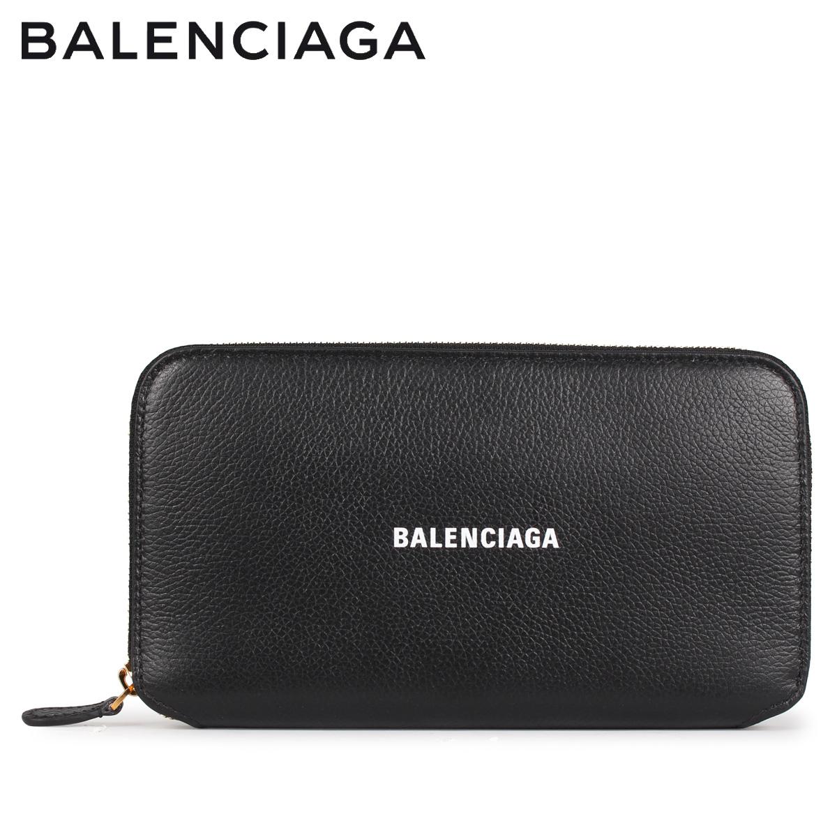BALENCIAGA バレンシアガ 財布 長財布 メンズ レディース ラウンドファスナー ZIP AROUND WALLET ブラック 黒 594290 [4/14 新入荷]