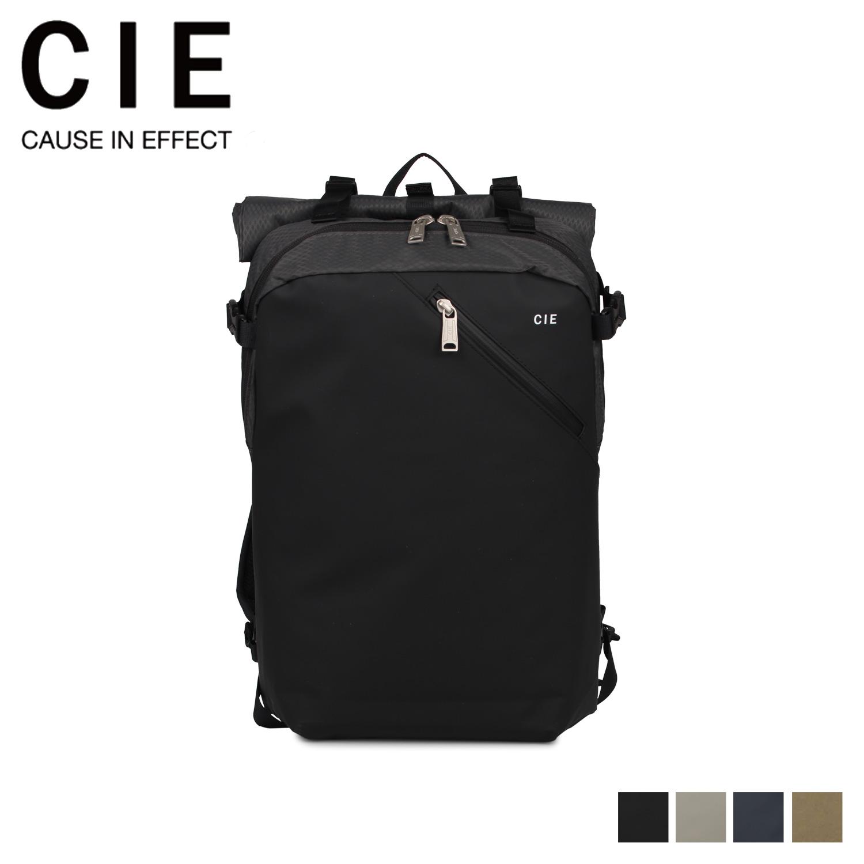 シー CIE リュック バッグ バックパック メンズ レディース VARIOUS ブラック グレー ネイビー 黒 021800 [4/30 新入荷]