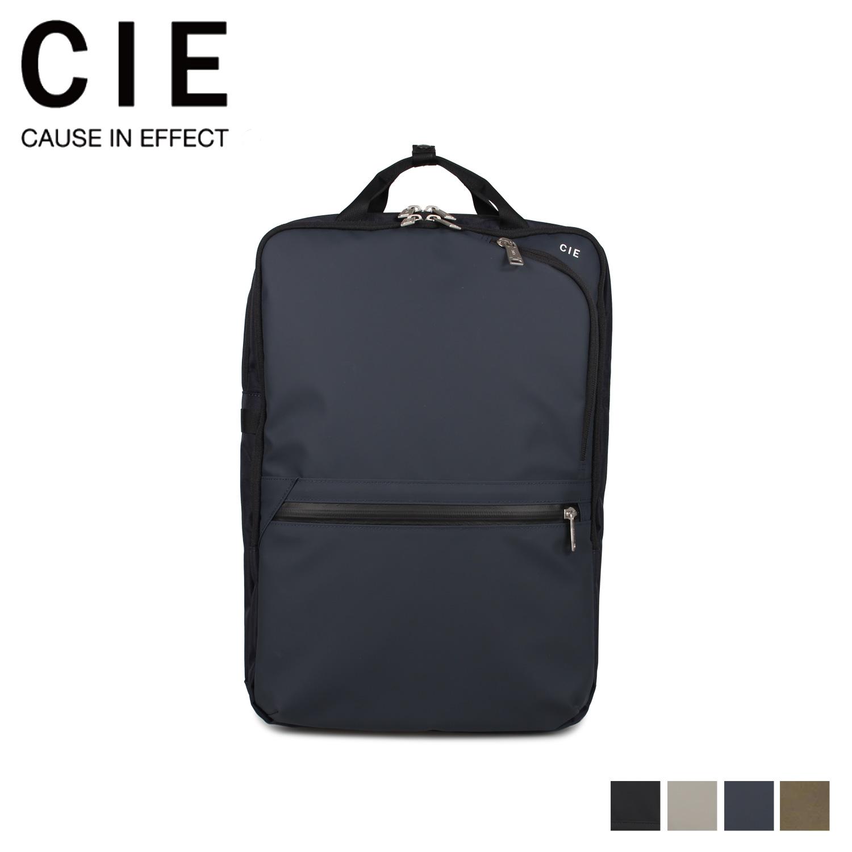 シー CIE リュック バッグ バックパック メンズ レディース VARIOUS ブラック グレー ネイビー 黒 021804 [4/30 新入荷]