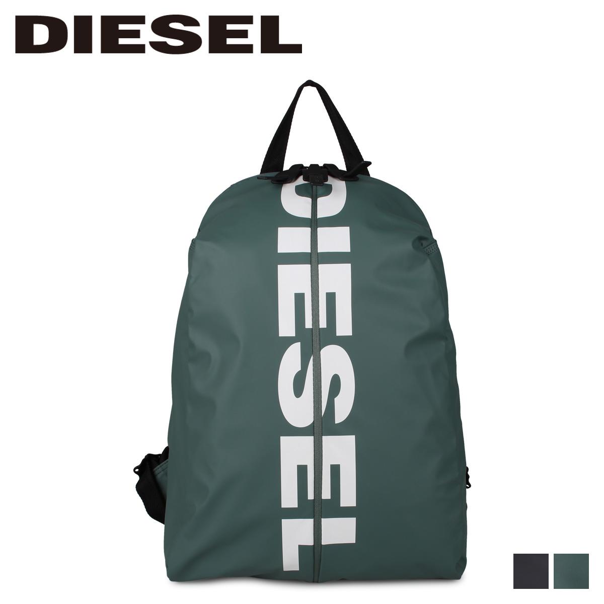 DIESEL ディーゼル バッグ リュック バックパック メンズ F-BOLD BACK ブラック グリーン 黒 X05479 P1705 [4/20 追加入荷]