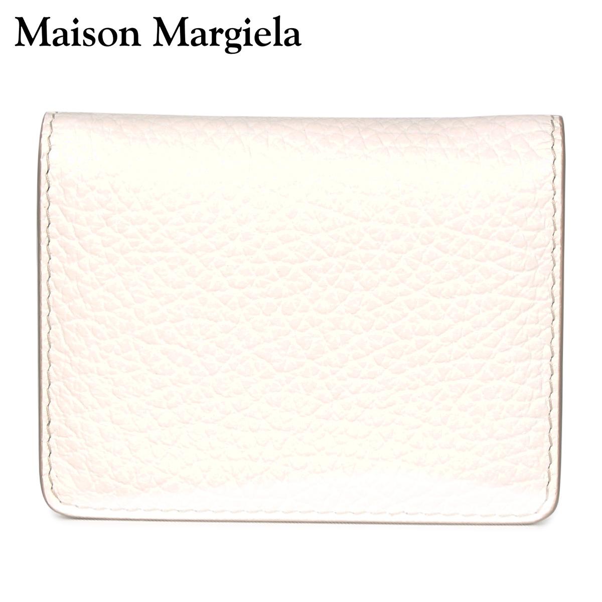 MAISON MARGIELA メゾンマルジェラ パスケース カードケース ID 定期入れ メンズ レディース CARD CASE ホワイト 白 S56UI0128 [4/13 新入荷]