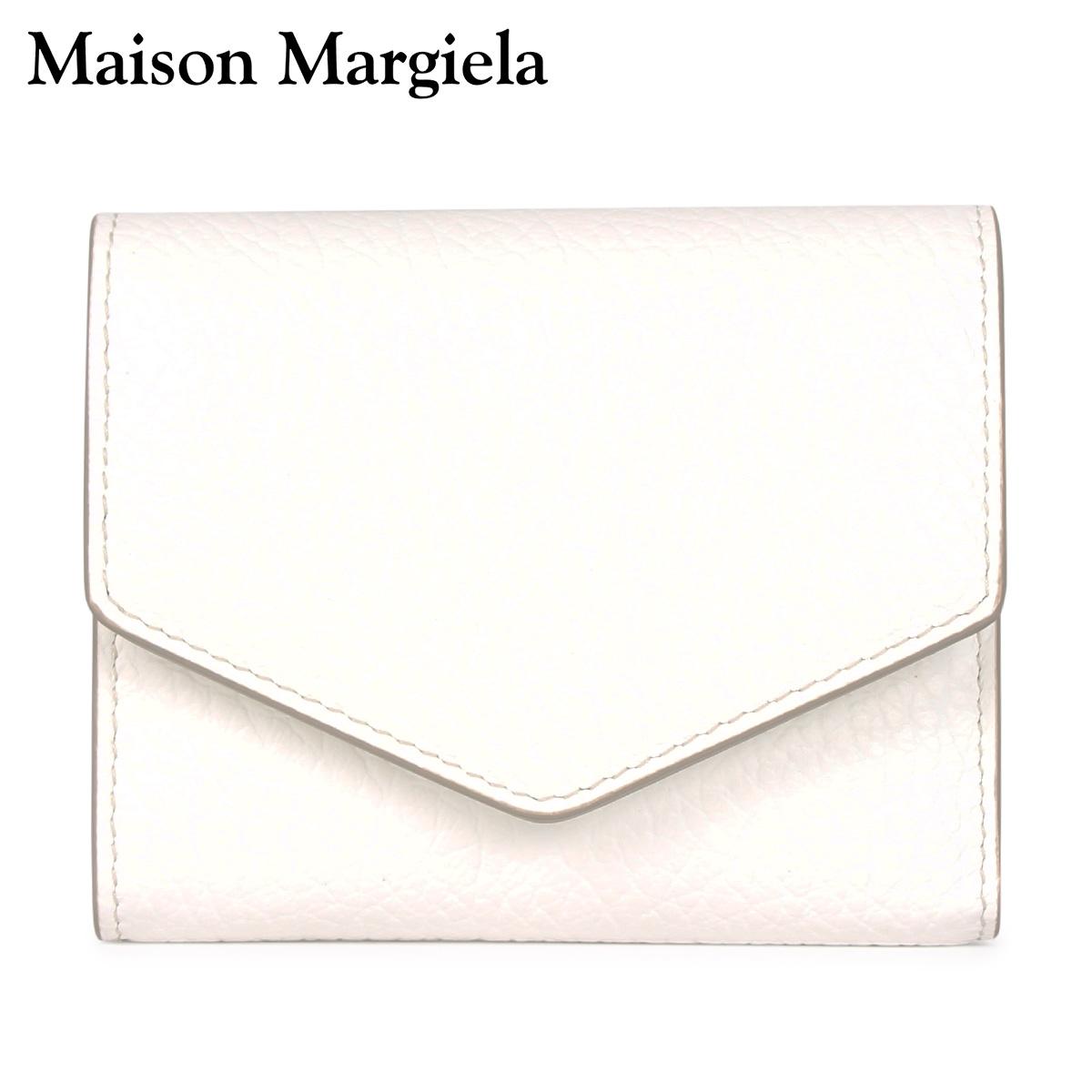 MAISON MARGIELA メゾンマルジェラ 財布 三つ折り ミニ財布 メンズ レディース WALLET ホワイト 白 S56UI0136 [4/13 新入荷]