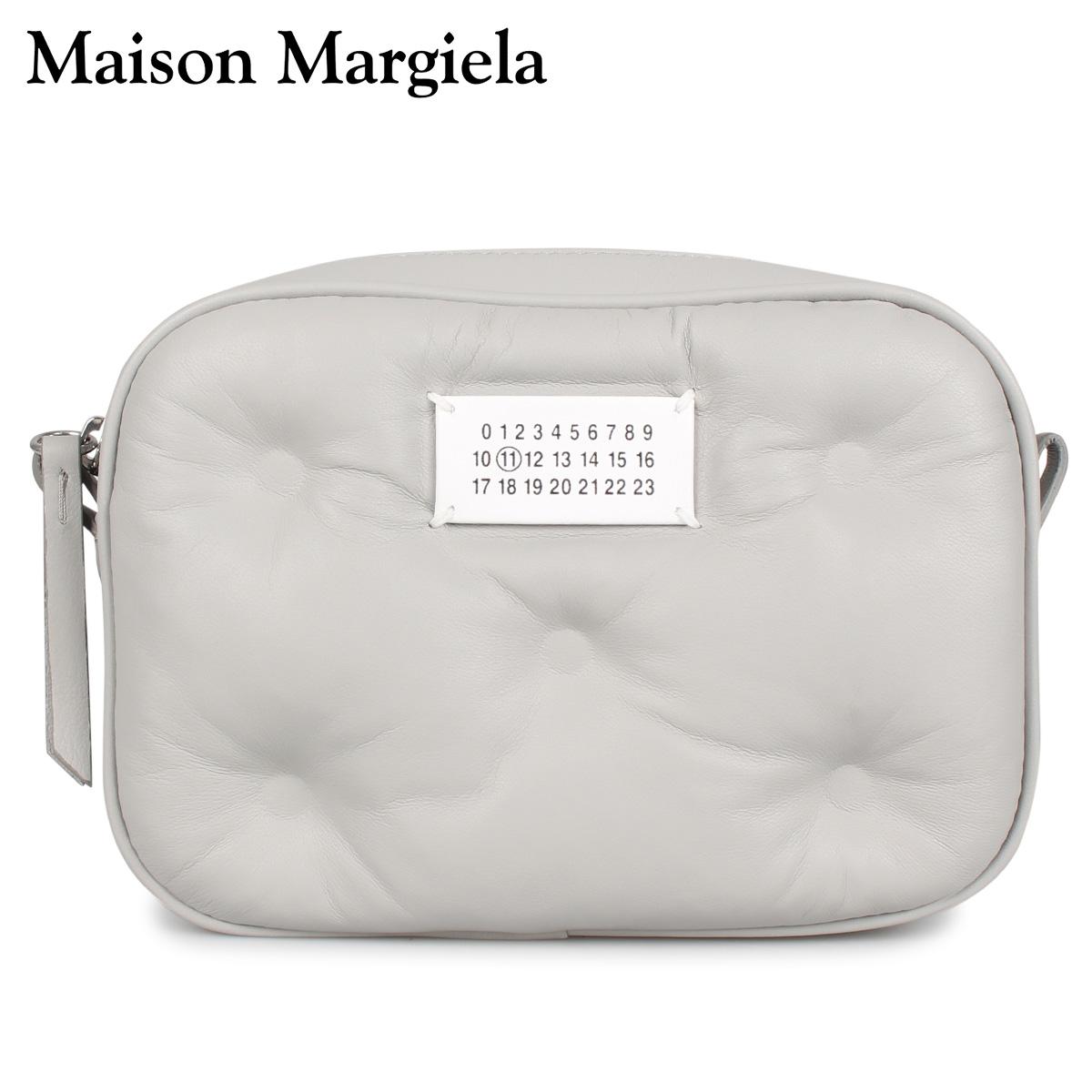 MAISON MARGIELA メゾンマルジェラ バッグ ショルダーバッグ ポーチ レディース GLAM SLAM CROSS BODY BAG グレー S56WG0108 [4/15 新入荷]