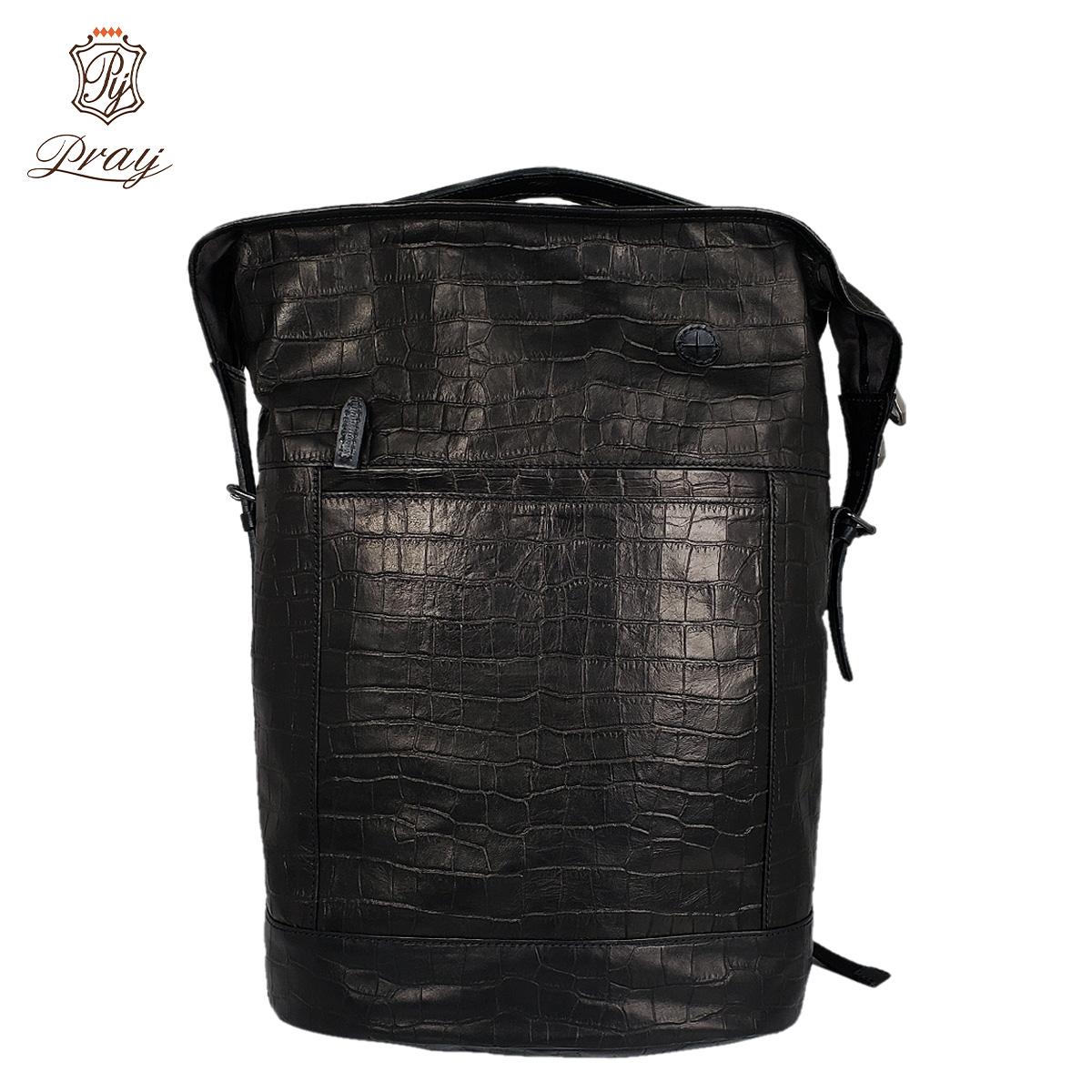 PRAY プレイ リュック バッグ バックパック メンズ RUCK SACK ブラック 黒 PRBP-301 [4/6 新入荷]