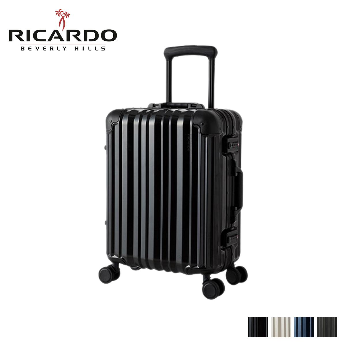 RICARDO リカルド エルロン スーツケース キャリーケース キャリーバッグ メンズ 37L AILERON ブラック グレー ネイビー 黒 AIV-19-4WB [4/13 新入荷]