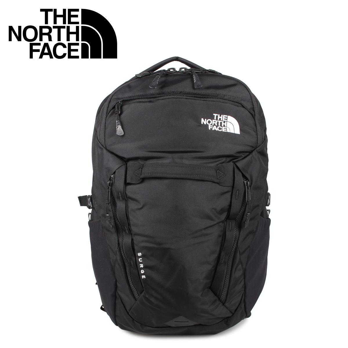 THE NORTH FACE ノースフェイス リュック バッグ バックパック サージ メンズ レディース 31L SURGE ブラック 黒 NM71852 [4/17 新入荷]