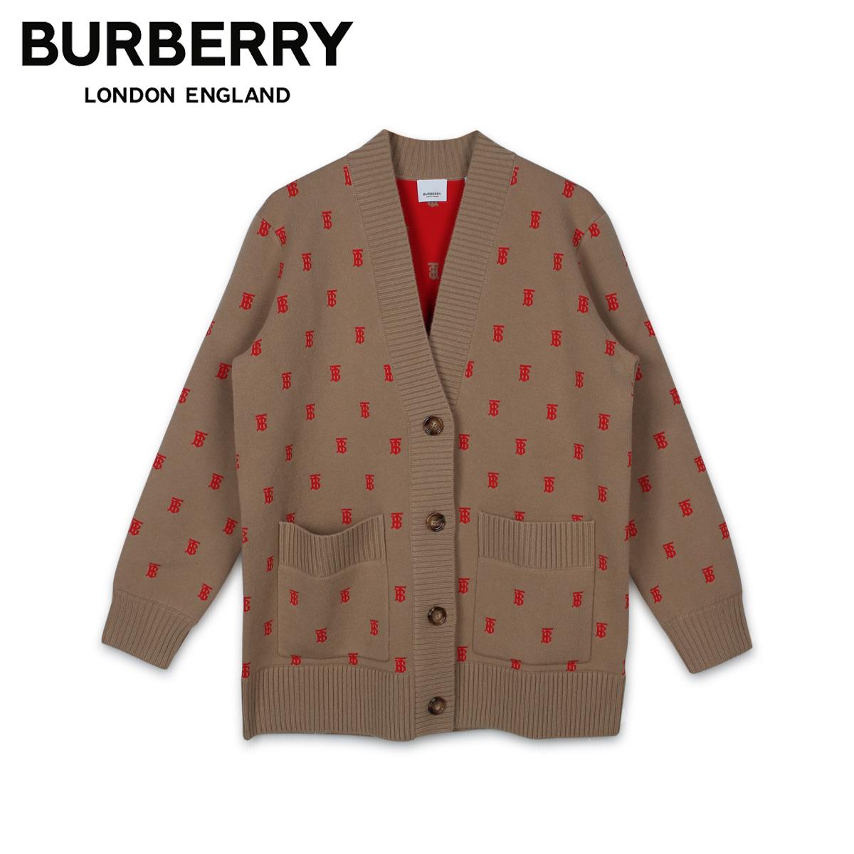 BURBERRY バーバリー カーディガン レディース CARDIGAN ベージュ 8021032