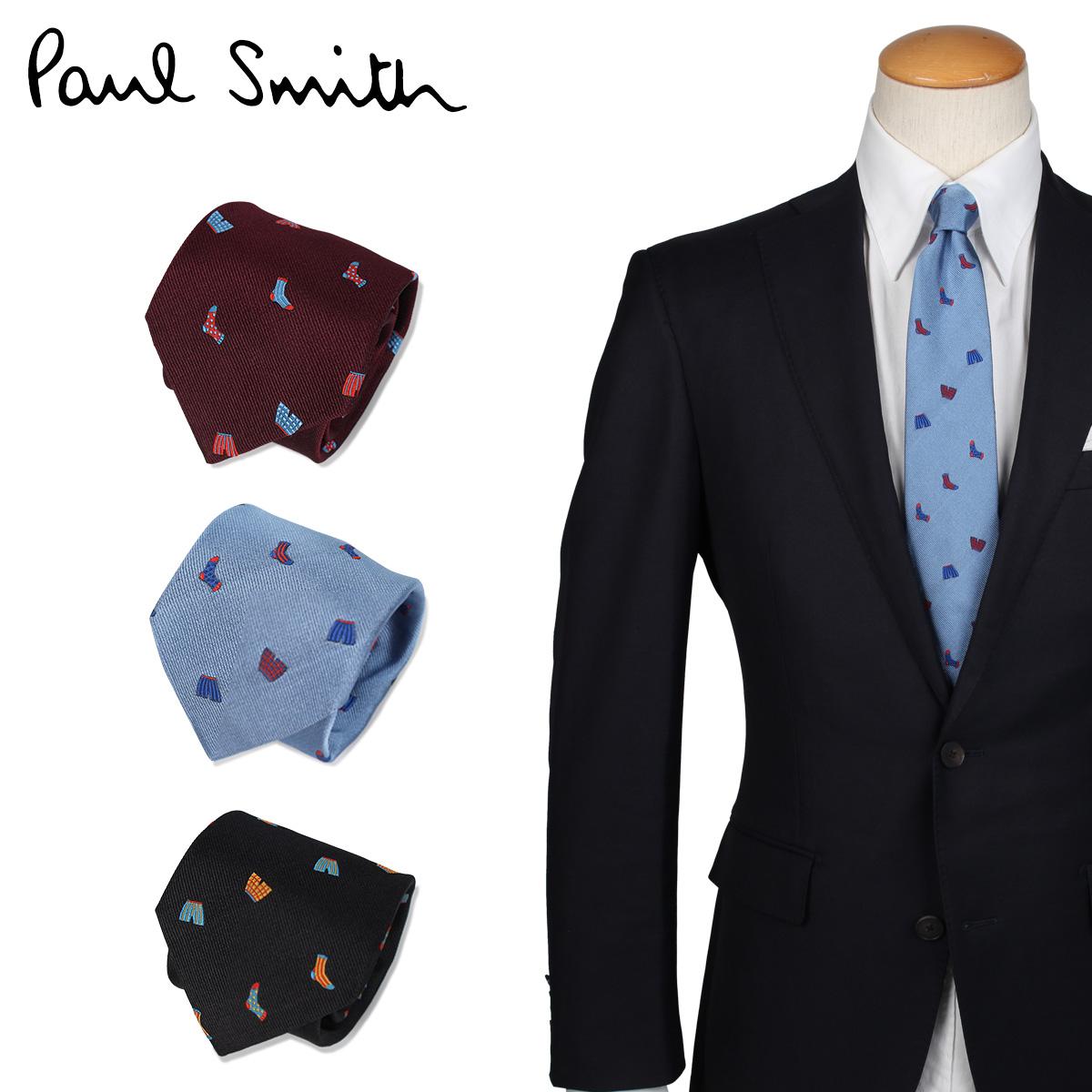 輝い Paul メンズ Smith ポールスミス ネクタイ メンズ イタリア製 ビジネス シルク ネクタイ ビジネス 結婚式 TIE, Leather Item Shop Lunatic White:810a4f5a --- kanvasma.com
