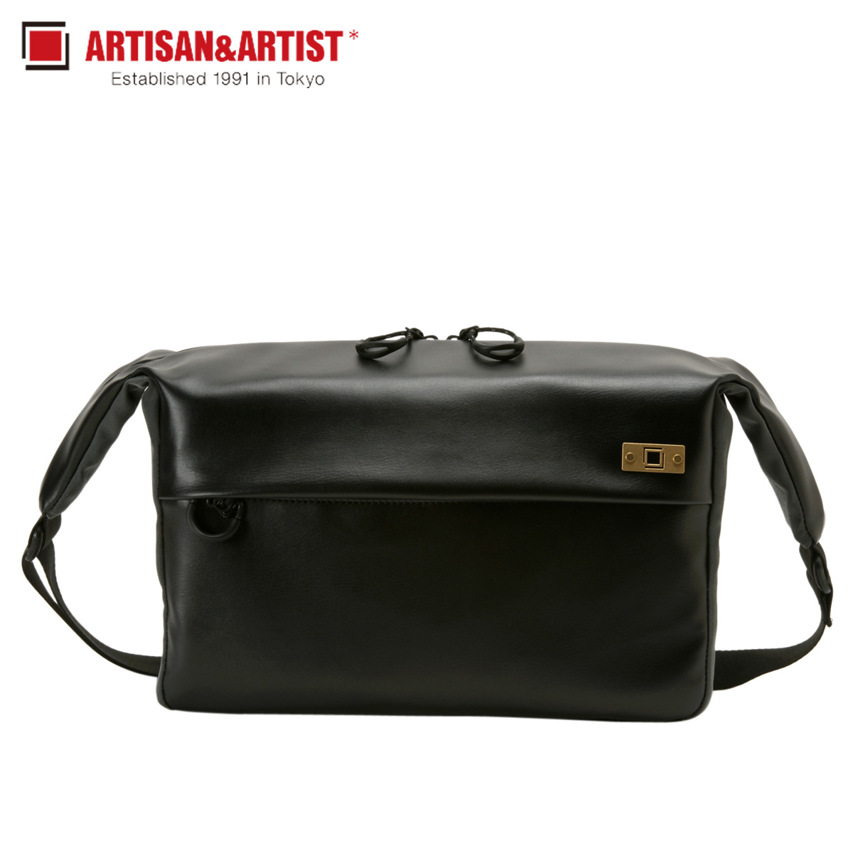 ARTISAN&ARTIST アルティザン&アーティスト ショルダーバッグ カメラバッグ バッグ メンズ BASALT SHOULDER BAG ブラック 黒 ACAM-BS0002:シュガーオンラインショップ
