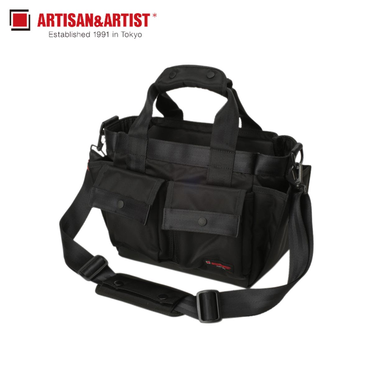 ARTISAN&ARTIST アルティザン&アーティスト ショルダーバッグ カメラバッグ バッグ メンズ 2WAY CAMERA BAG ブラック 黒 GDR-211N