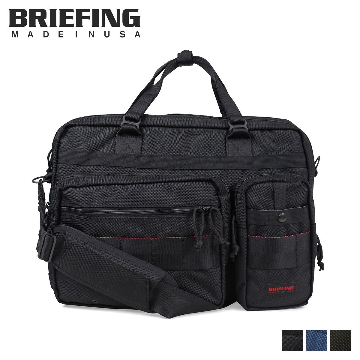BRIEFING ブリーフィング バッグ ブリーフケース ビジネスバッグ メンズ B4 OVER TRIP ブラック ネイビー オリーブ 黒 BRF117219