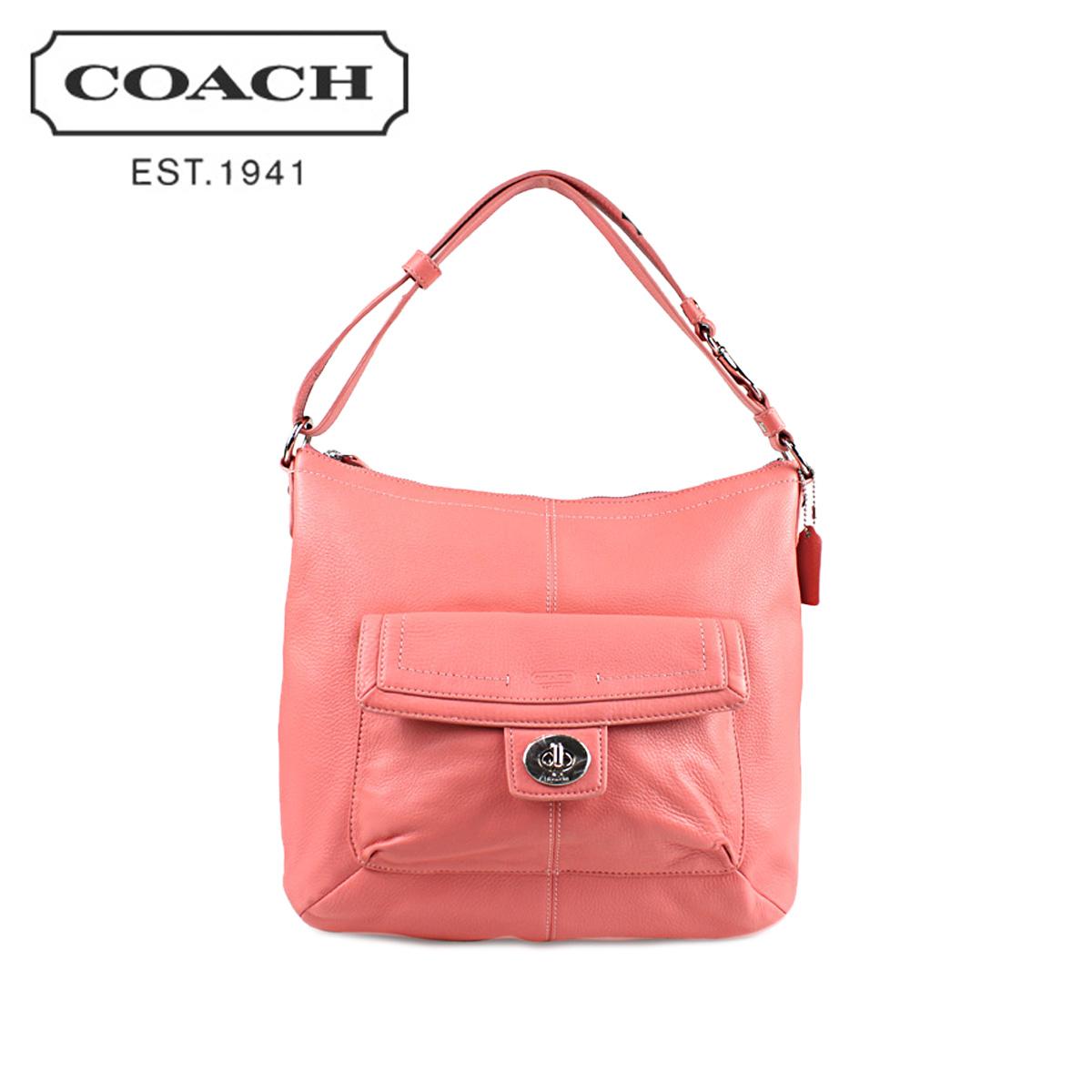 6a22f1b6f8 Sugar Online Shop  Coach COACH shoulder bags coral Penelope leather ...